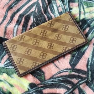 BALENCIAGA Brown Vintage Thin Wallet